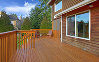 Wood Deck Treated with Wood Shield